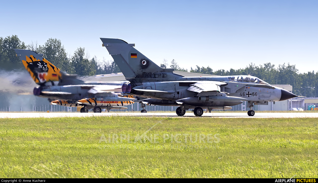Germany - Air Force 46+56 aircraft at Poznań - Krzesiny