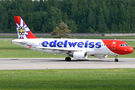 Edelweiss A320 visited St. Petersburg