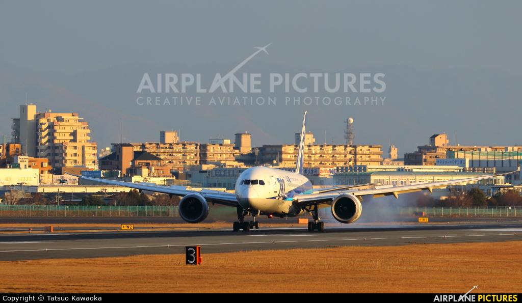 - Airport Overview JA817A aircraft at Osaka - Itami Intl