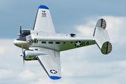 G-BKGL - Private Beechcraft 18 Twin Beech, Expeditor aircraft