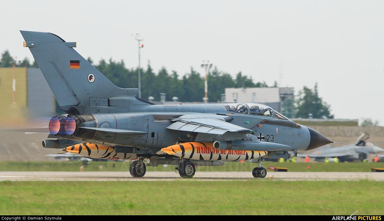 Germany - Air Force 46+23 aircraft at Poznań - Krzesiny