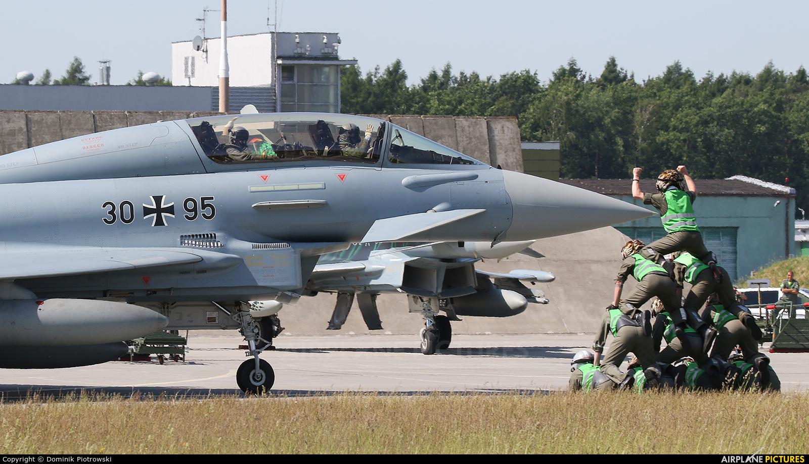 Germany - Air Force - aircraft at Poznań - Krzesiny