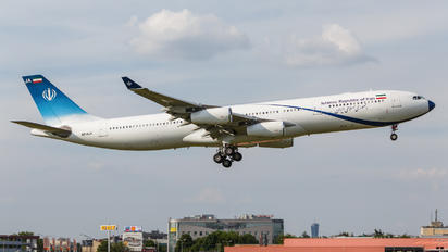EP-AJA - Iran - Government Airbus A340-300
