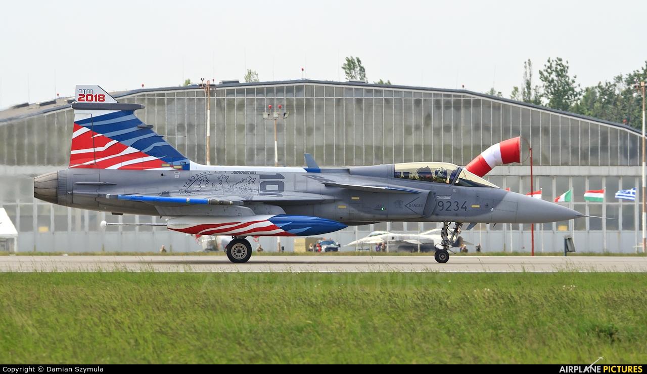Czech - Air Force 9234 aircraft at Poznań - Krzesiny