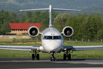 S5-AAU - Adria Airways Canadair CL-600 CRJ-900