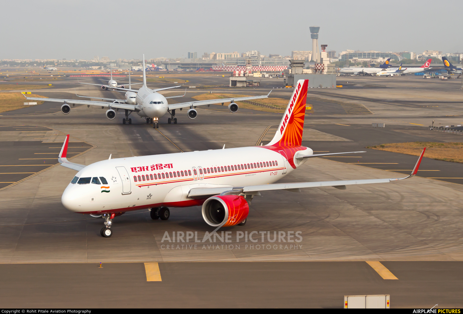Air India VT-CIO aircraft at Mumbai - Chhatrapati Shivaji Intl