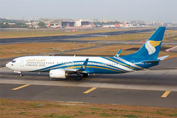 A4O-BAC - Oman Air Boeing 737-800