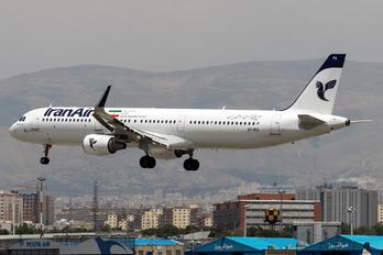 EP-IFA - Iran Air Airbus A321