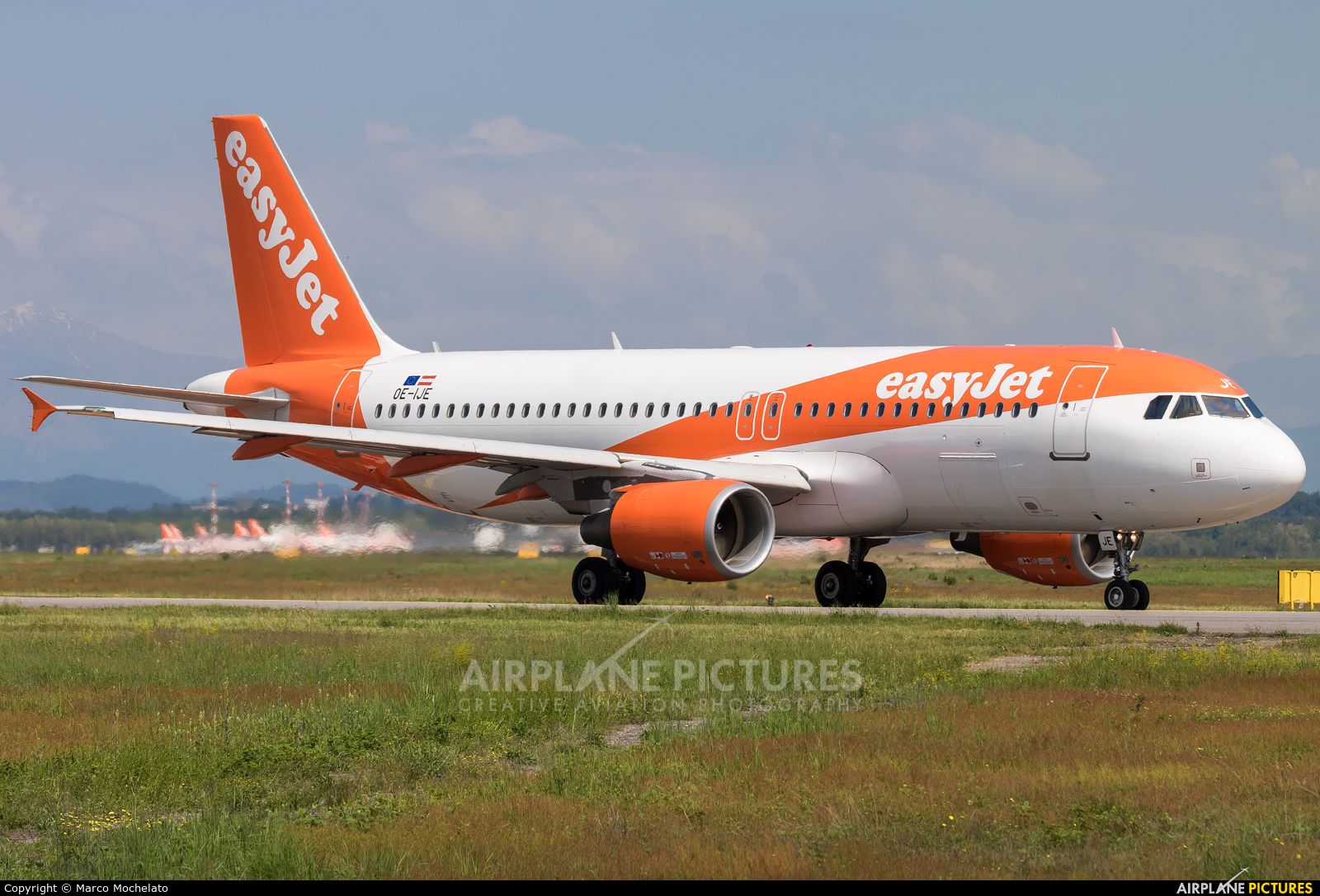 easyJet Europe OE-IJE aircraft at Milan - Malpensa
