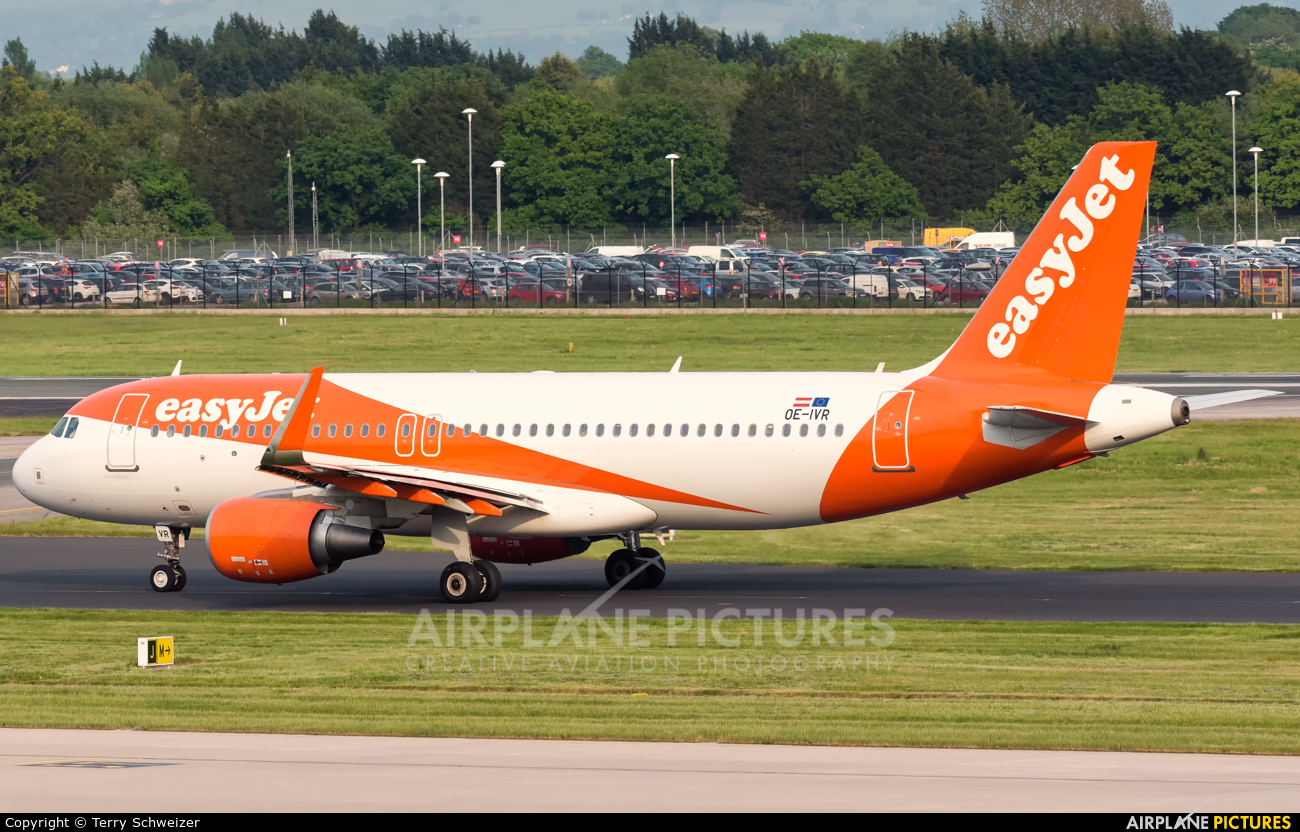 easyJet Europe OE-IVR aircraft at Manchester