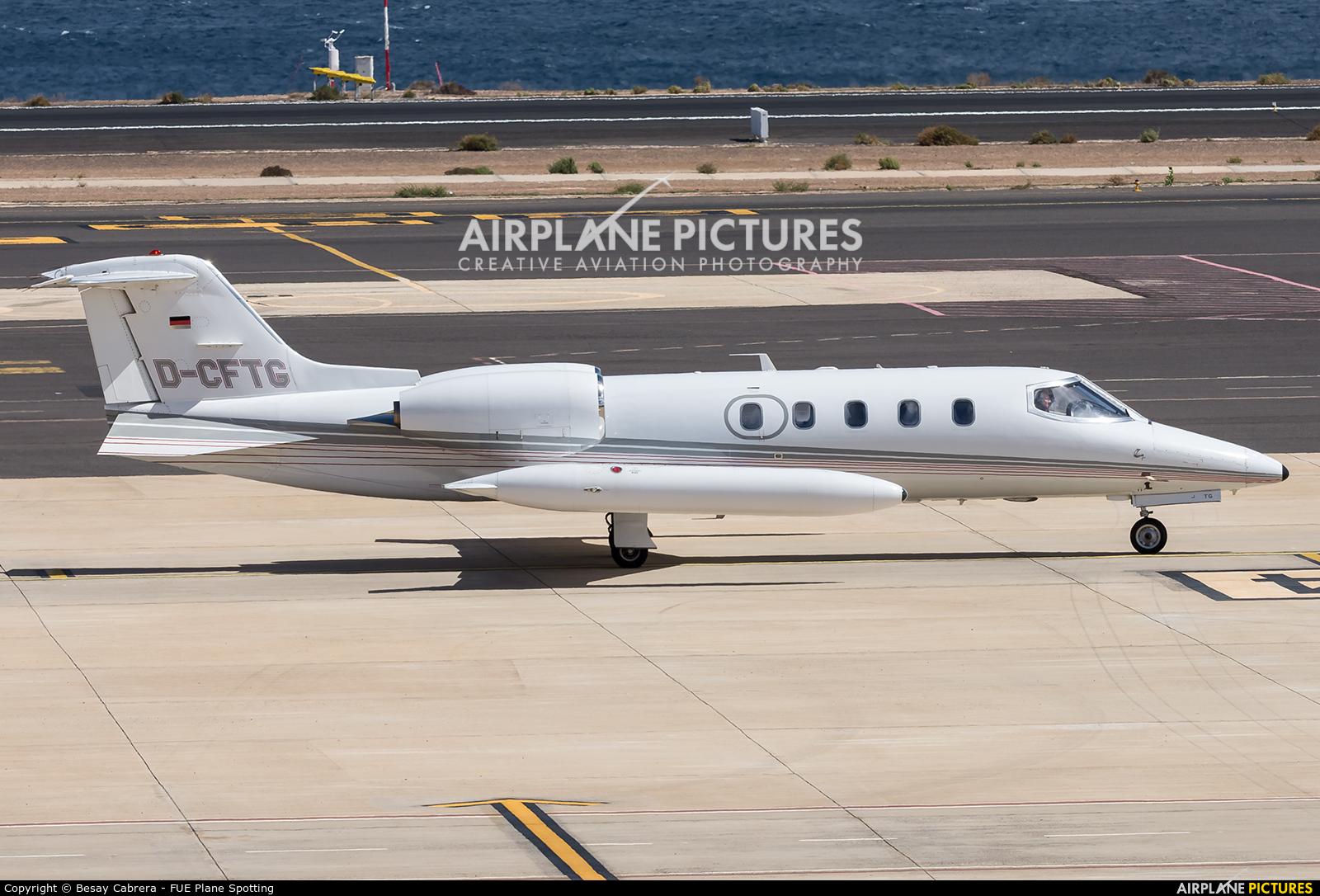 Quick Air Jet Charter D-CFTG aircraft at Fuerteventura - Puerto del Rosario