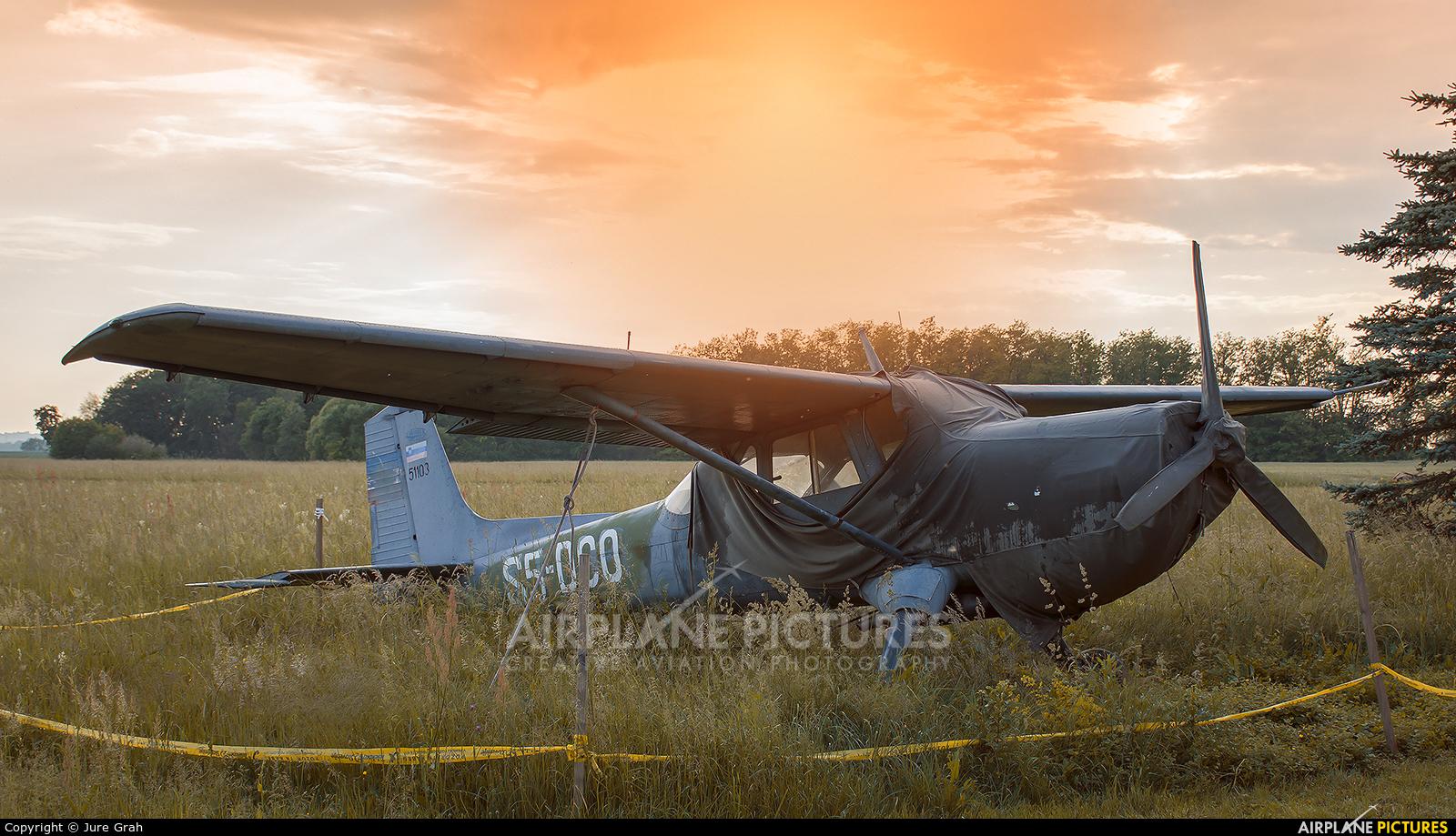 Aeroklub Murska Sobota S5-DCO aircraft at Murska Sobota