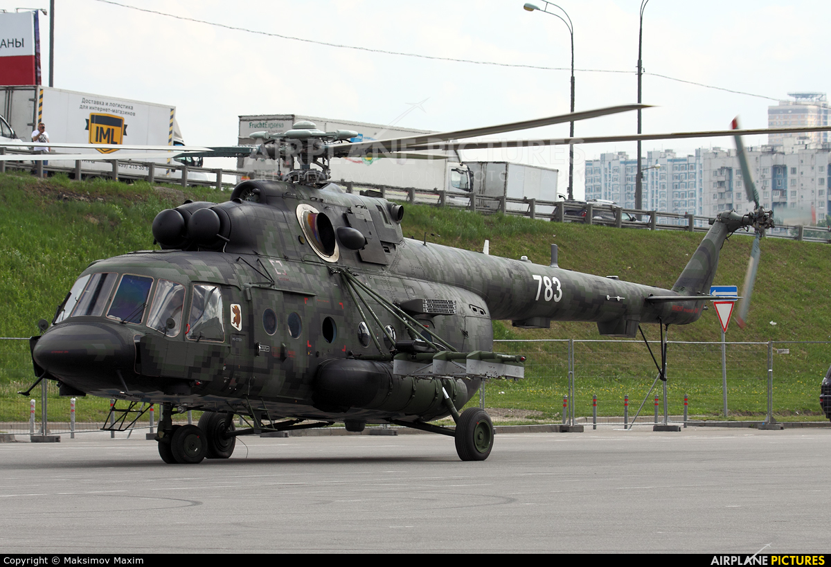 Russia - Air Force 783 aircraft at Moscow - Heliport Krokus