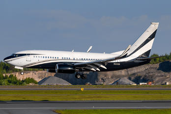 N301SR - Private Boeing 737-700 BBJ
