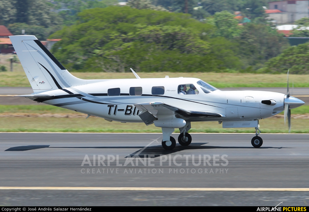 Private TI-BIH aircraft at San Jose - Juan Santamaría Intl