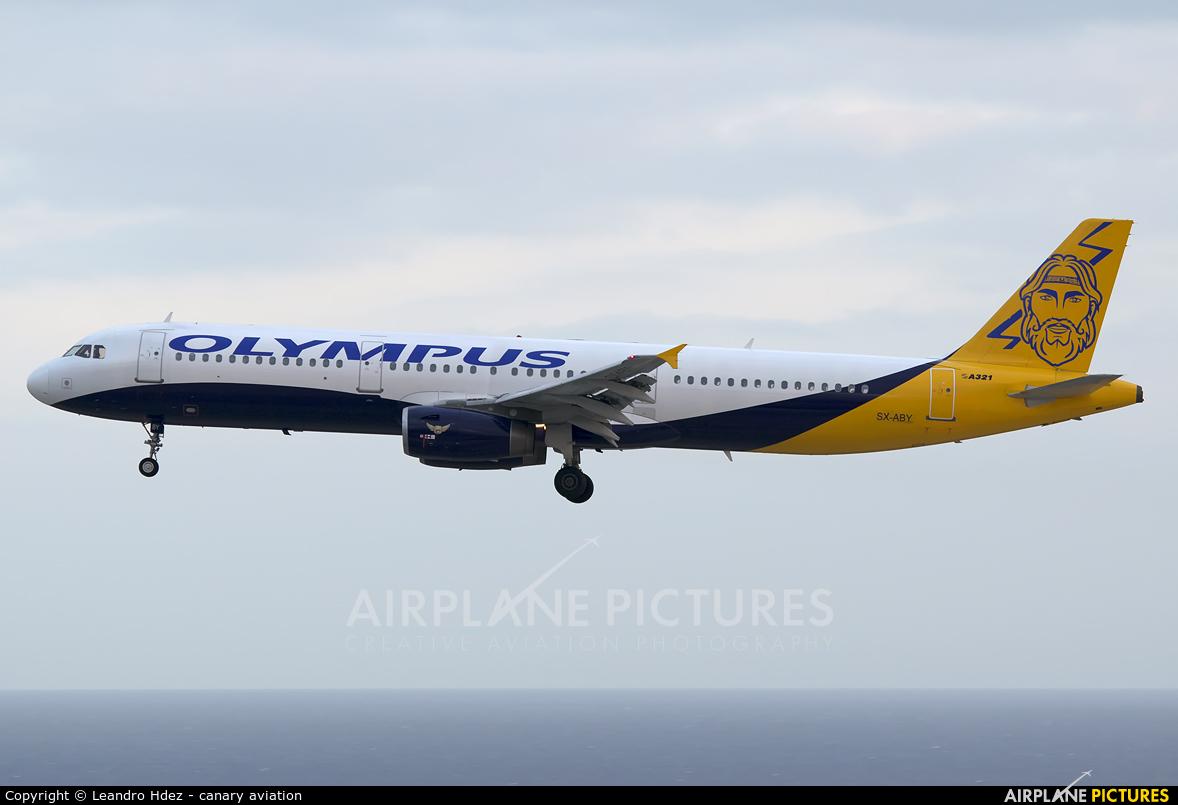 Olympus Airways SX-ABY aircraft at Tenerife Sur - Reina Sofia