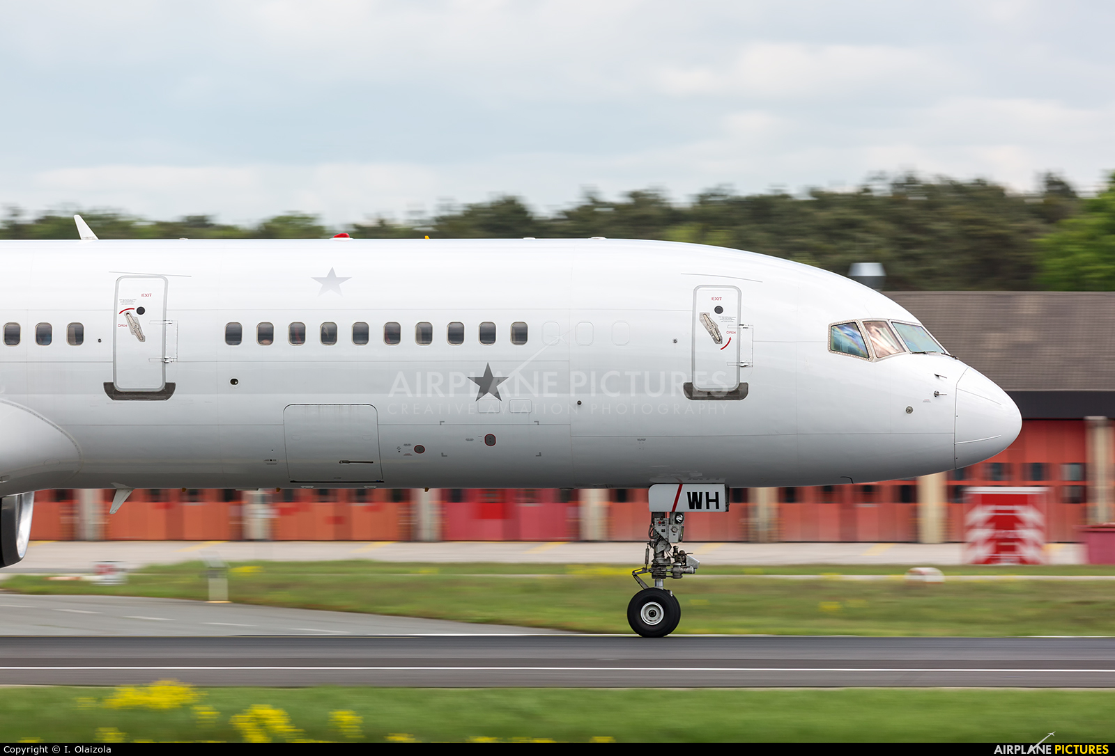 Titan Airways G-POWH aircraft at Frankfurt