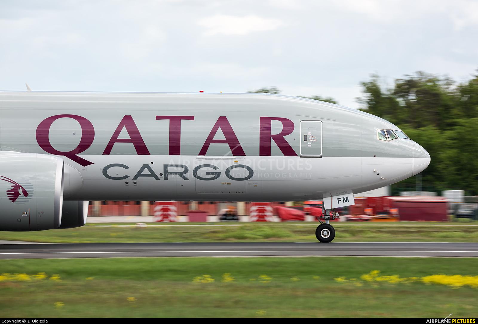 Qatar Airways Cargo A7-BFM aircraft at Frankfurt