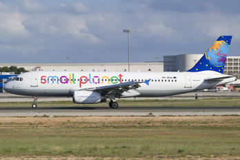 YR-SEA - Small Planet Airlines Airbus A320