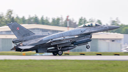 4055 - Poland - Air Force Lockheed Martin F-16C Jastrząb