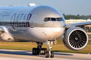 A7-BAO - Qatar Airways Boeing 777-300ER aircraft