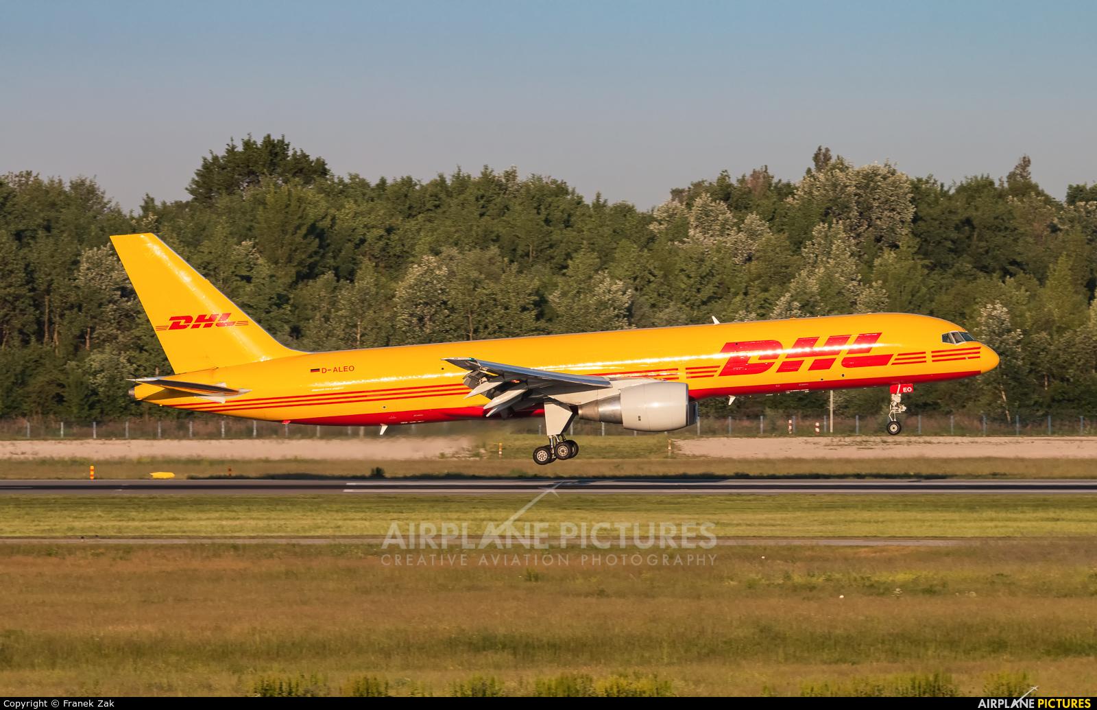 DHL Cargo D-ALEO aircraft at Warsaw - Frederic Chopin