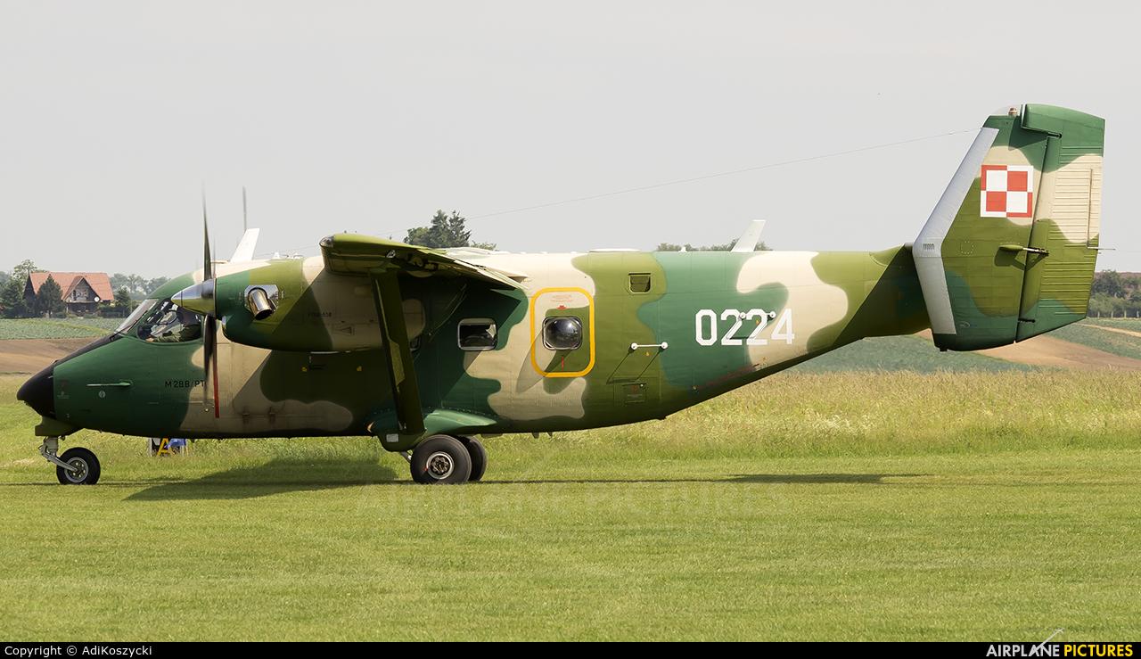 Poland - Air Force 0224 aircraft at Kraków - Pobiednik Wielki