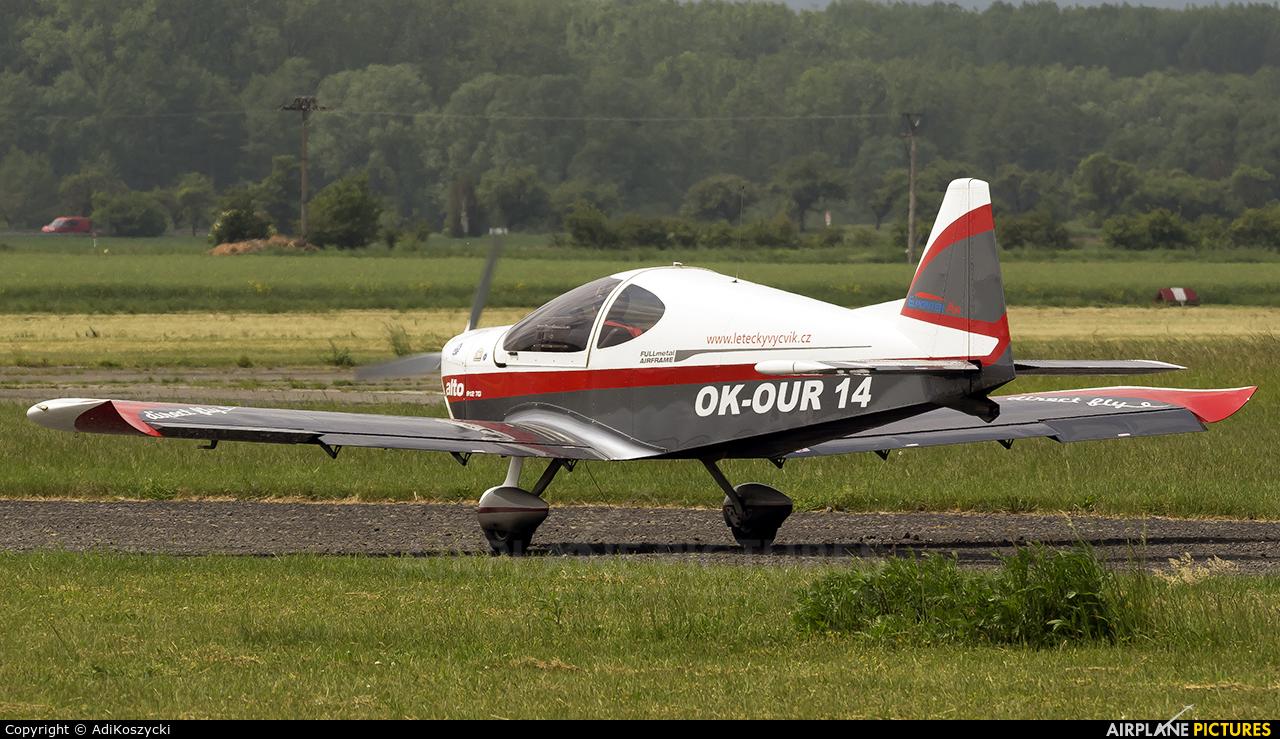 Elmontex Air OK-OUR14 aircraft at Zábřeh