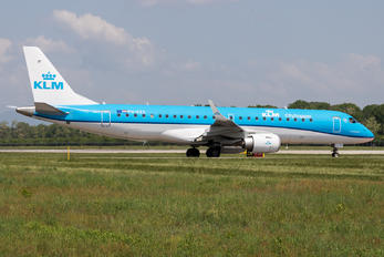 PH-EZS - KLM Cityhopper Embraer ERJ-190 (190-100)