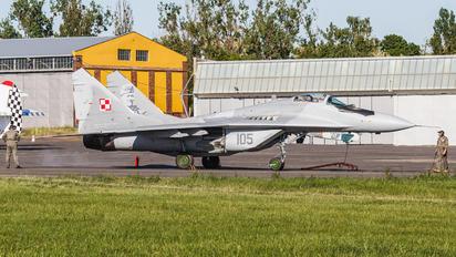 105 - Poland - Air Force Mikoyan-Gurevich MiG-29A