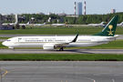 Saudi Arabian B739 BBJ3 visited St. Petersburg