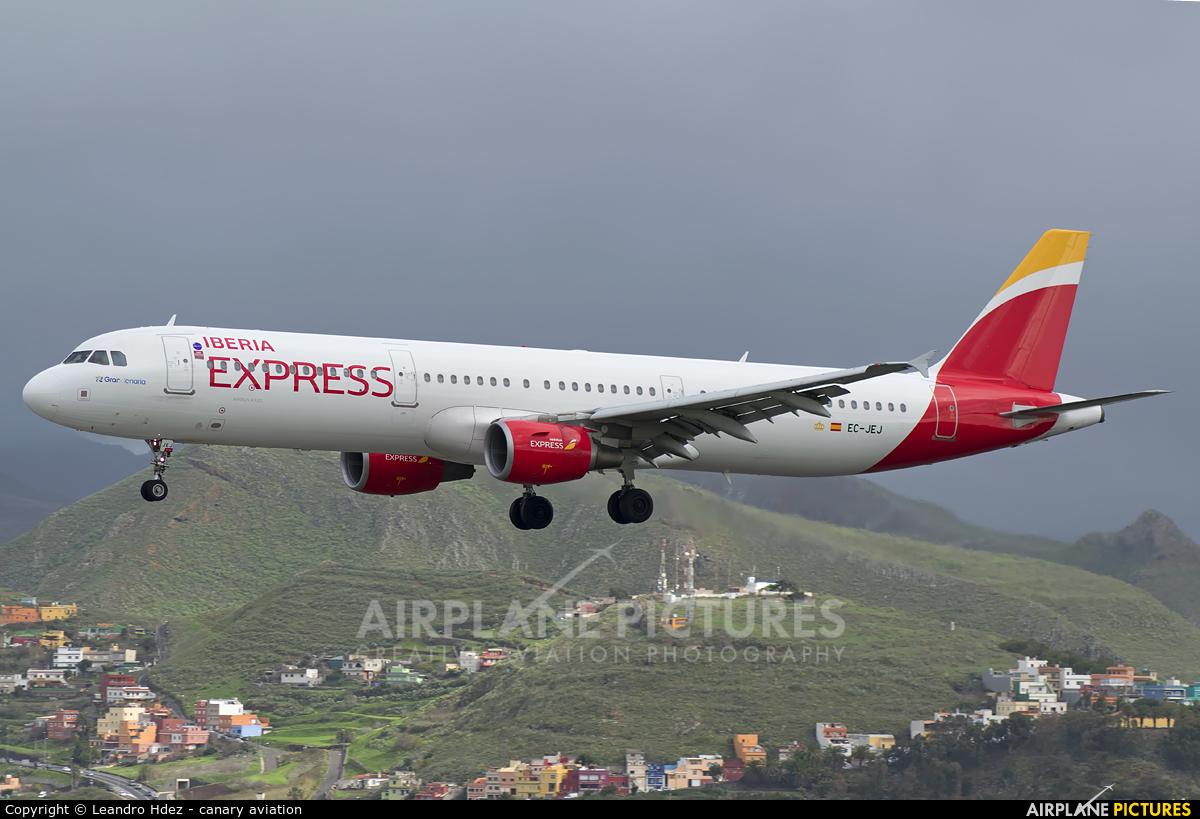 Iberia Express EC-JEJ aircraft at Tenerife Norte - Los Rodeos
