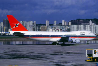 ZS-SAP - South African Airways Boeing 747-200