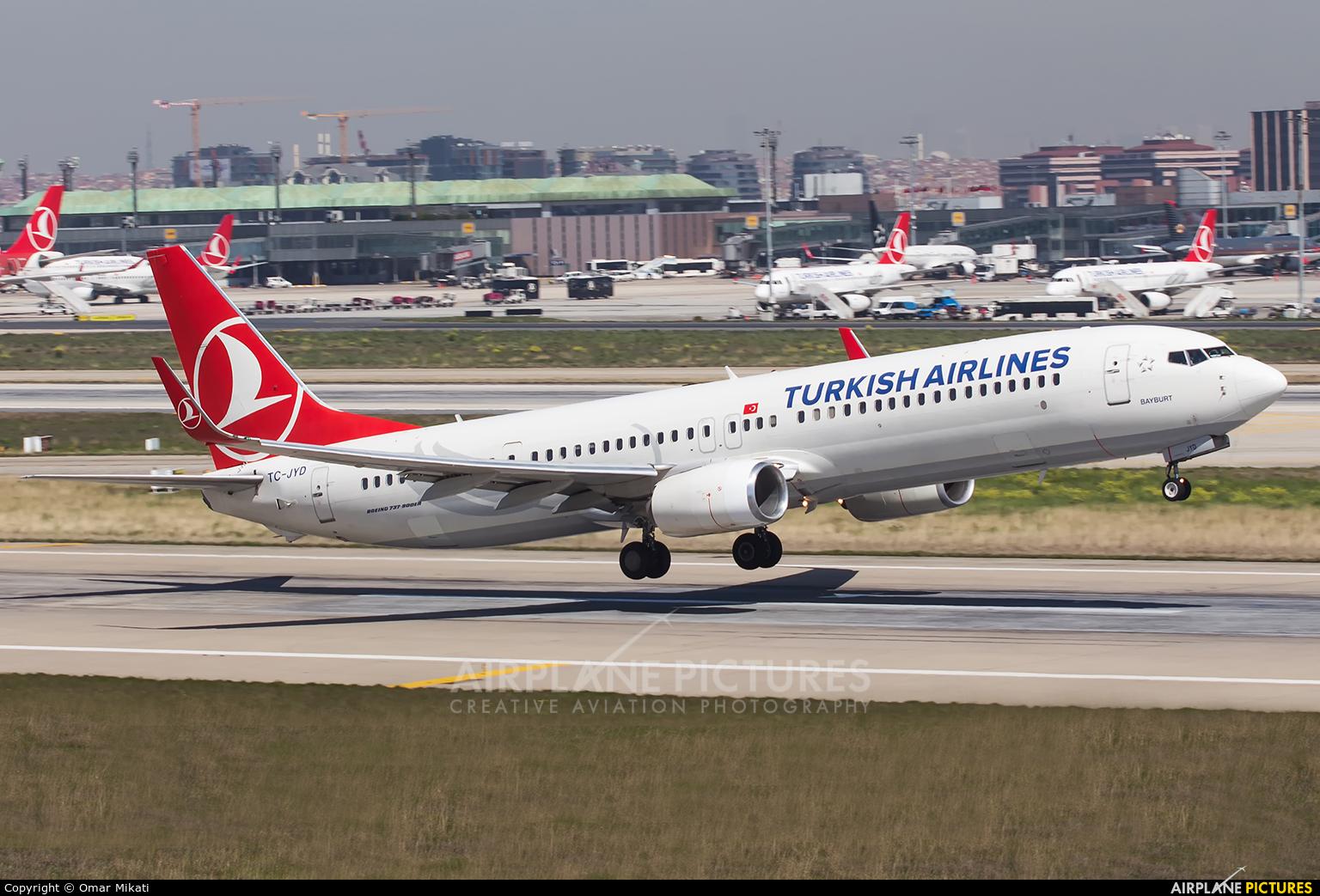 Turkish Airlines TC-JYD aircraft at Istanbul - Ataturk
