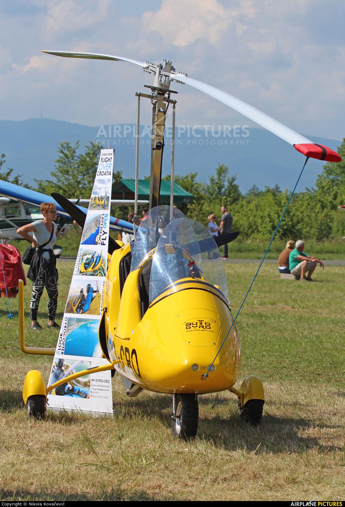 Private 9A-MIC aircraft at Velika Gorica/ZTC