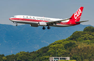 B-1523 - China United Airlines Boeing 737-800