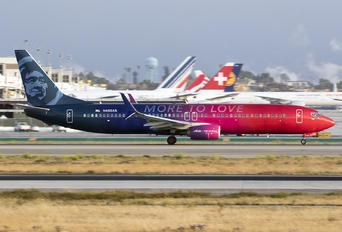 N493AS - Alaska Airlines Boeing 737-900ER