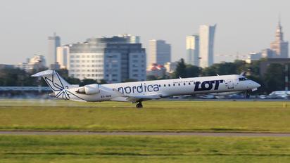 ES-ACK - LOT - Polish Airlines Canadair CL-600 CRJ-900