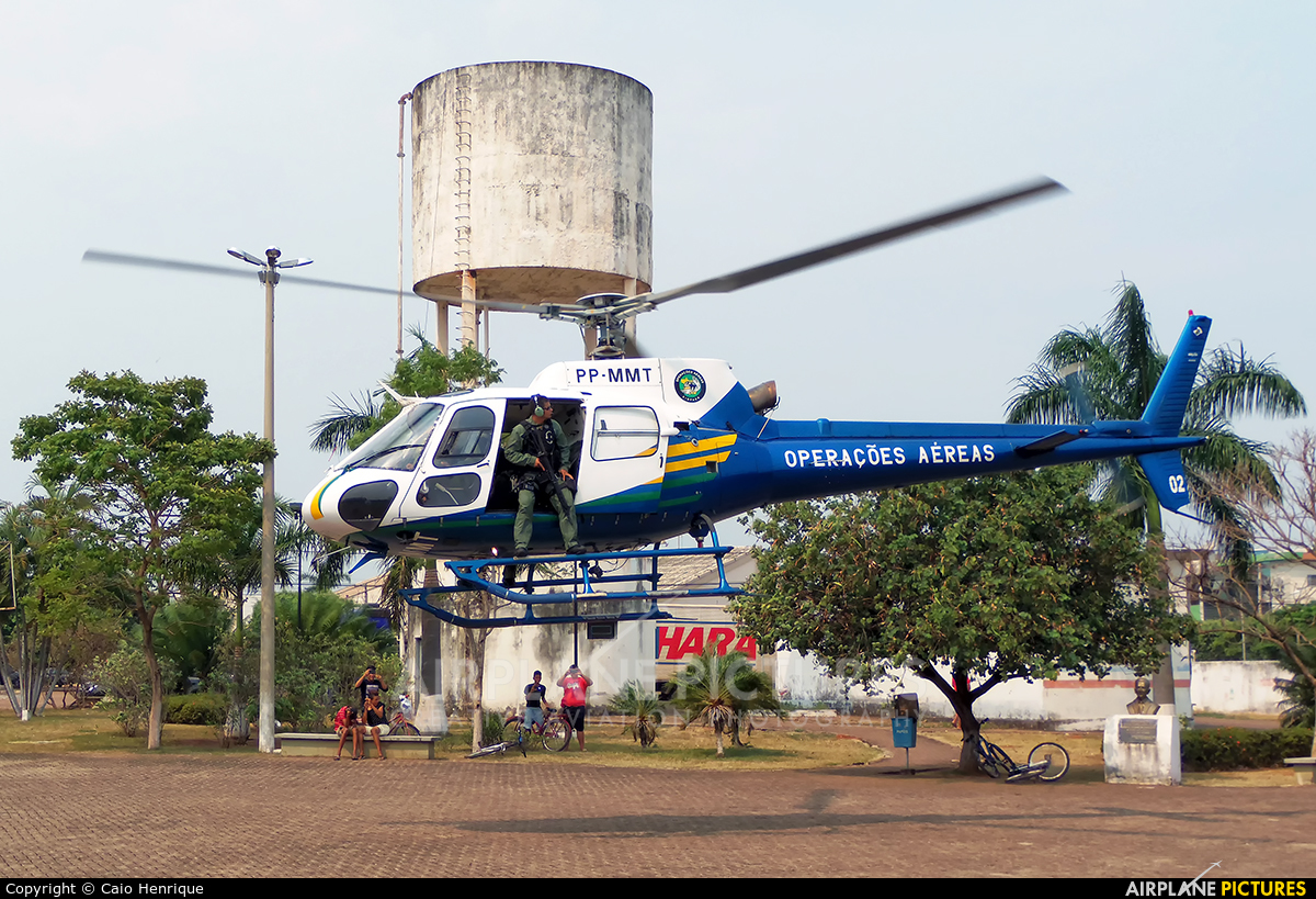 Brazil - Military Police PP-MMT aircraft at Off Airport - Brazil