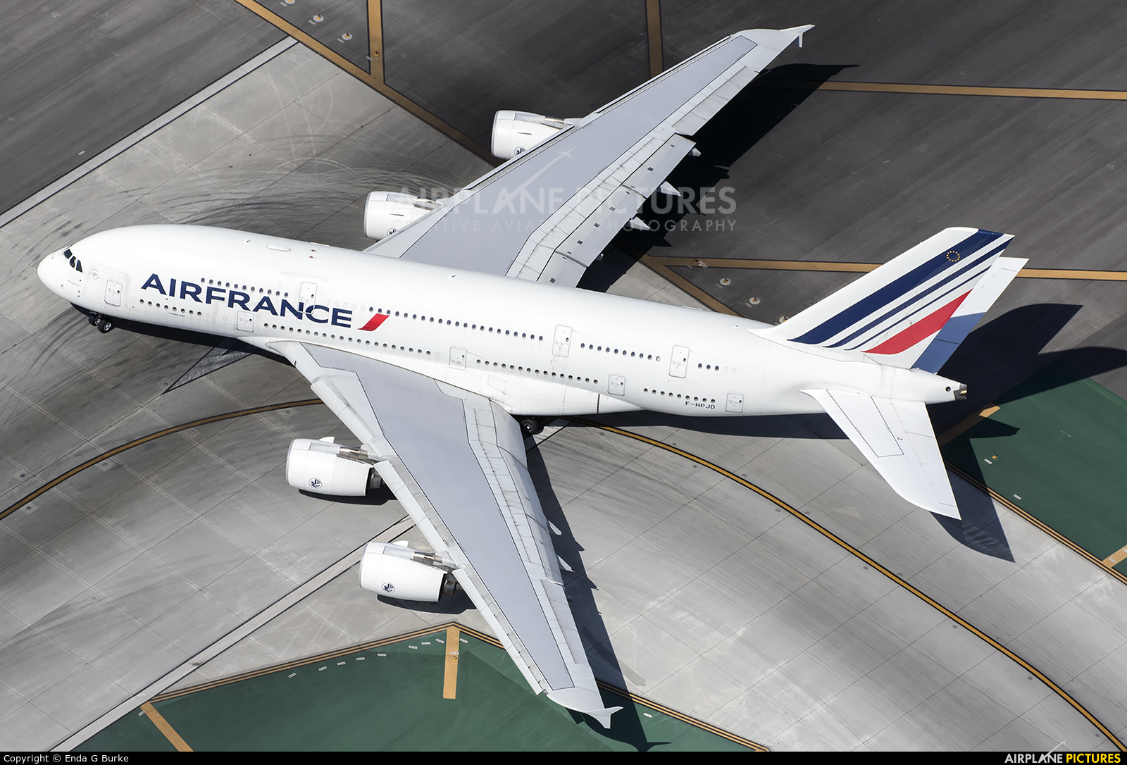 Air France F-HPJD aircraft at Los Angeles Intl