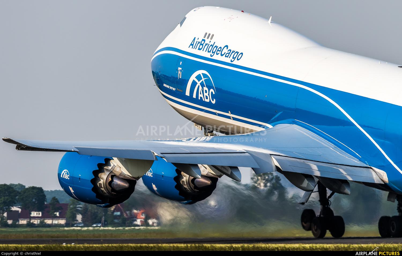 Air Bridge Cargo VP-BBY aircraft at Amsterdam - Schiphol