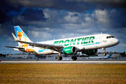 N229FR - Frontier Airlines Airbus A320 aircraft