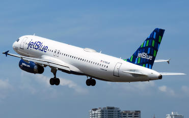 N789JB - JetBlue Airways Airbus A320