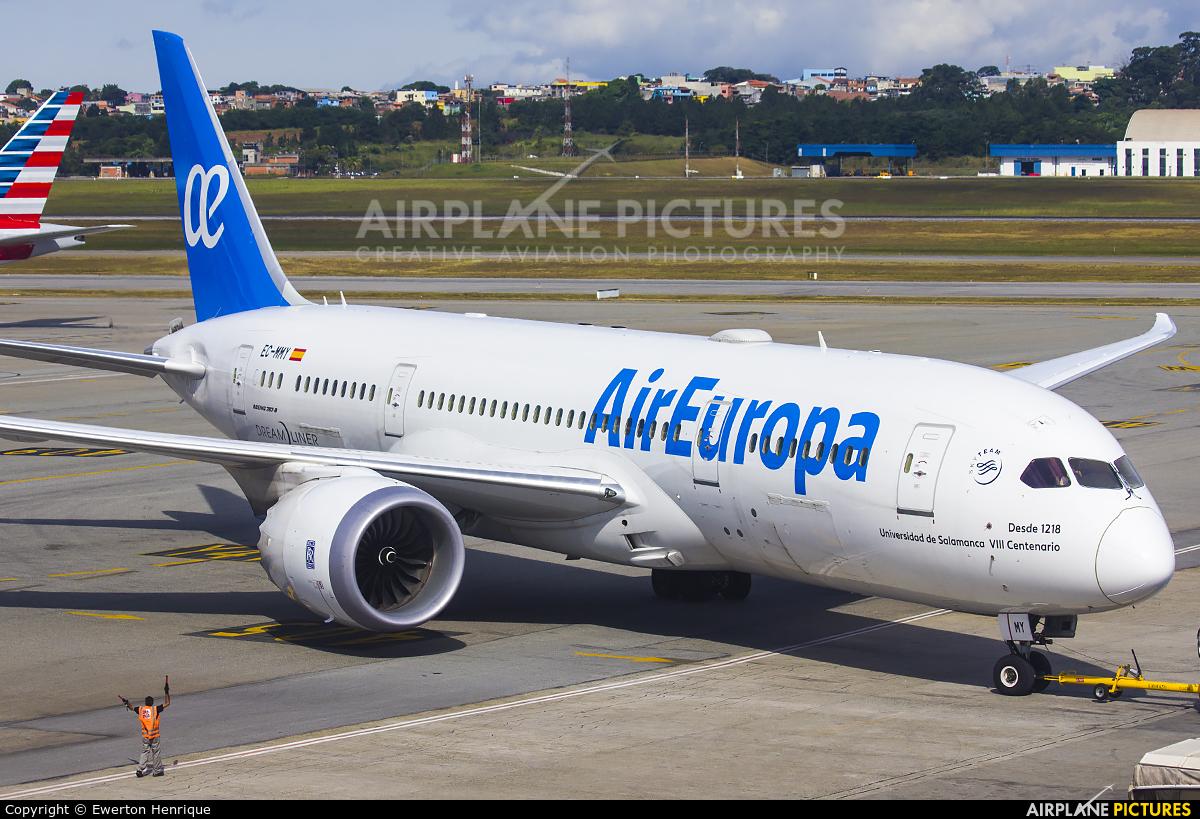 Air Europa EC-MMY aircraft at São Paulo - Guarulhos