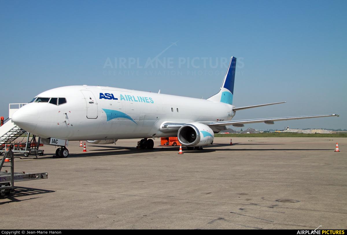 ASL Airlines OE-IAC aircraft at Liège-Bierset