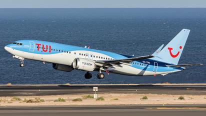 OO-TMA - TUI Airlines Belgium Boeing 737-8 MAX