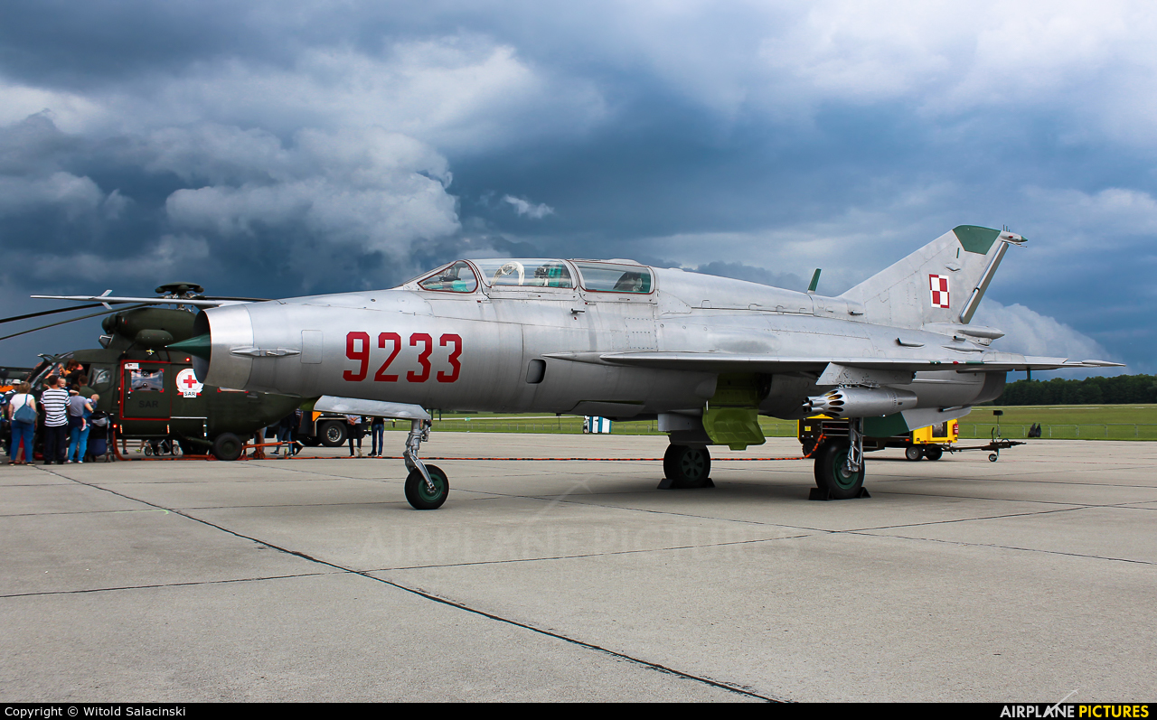 Poland - Air Force 9233 aircraft at Mińsk Mazowiecki