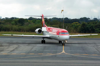 PR-OAJ - Avianca Brasil Fokker 100
