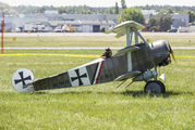 OK_TAV58 - Private Fokker DR.1 Triplane (replica) aircraft