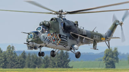 #1 Czech - Air Force Mil Mi-35 3361 taken by Piotr Gryzowski